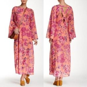 42542c324 Free People Dresses - FREE PEOPLE MELROSE BELL SLEEVE CLEMENT MAXI DRESS